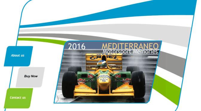 "Motorsport Memories 2016 F1 Calendar ""Mediterraneo"""