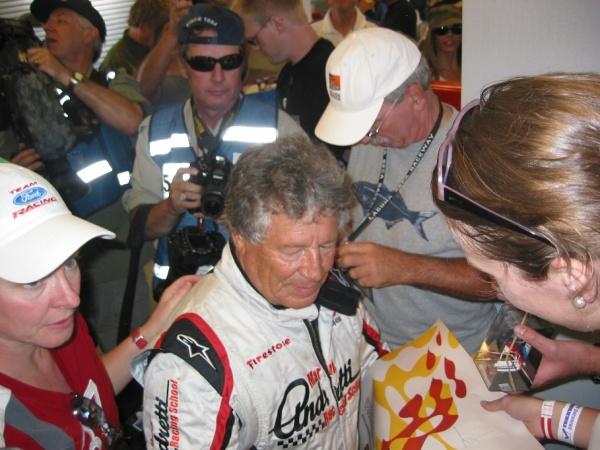 Andretti at Laguna Seca 2008