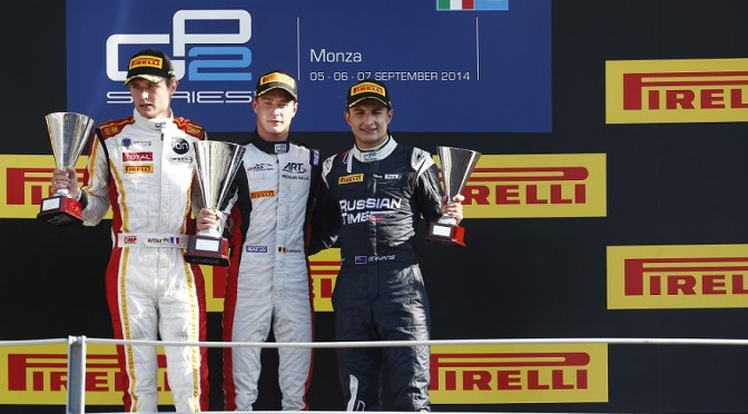 Arthur Pic (Campos Racing), Stoffel Vandoorne (ART Grand Prix), Mitch Evans
