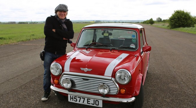 Legendary AC/DC front man Brian Johnson will take to the track in his 1964 Mini Cooper in the Historic Touring Cars class at Croft Nostalgia Weekend.