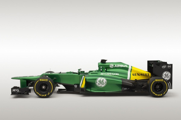 Caterham CT03 Side