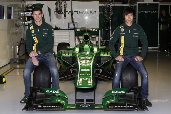 Caterham Test drivers 2013