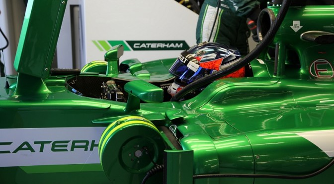 Caterham Test silverstone 2014