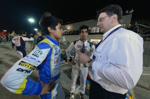 ENAAM speaks to FIA official