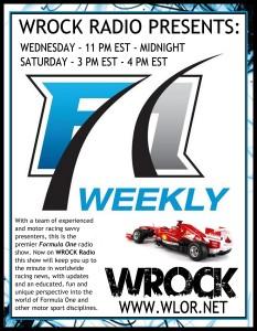 F1W Radio Show - WROCK / WLOR