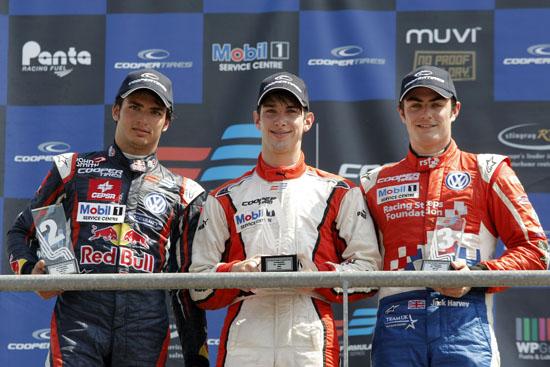 F3 podium spa 2012