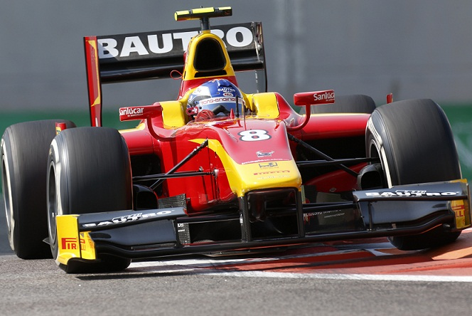 Series leader fastest in Abu Dhabi