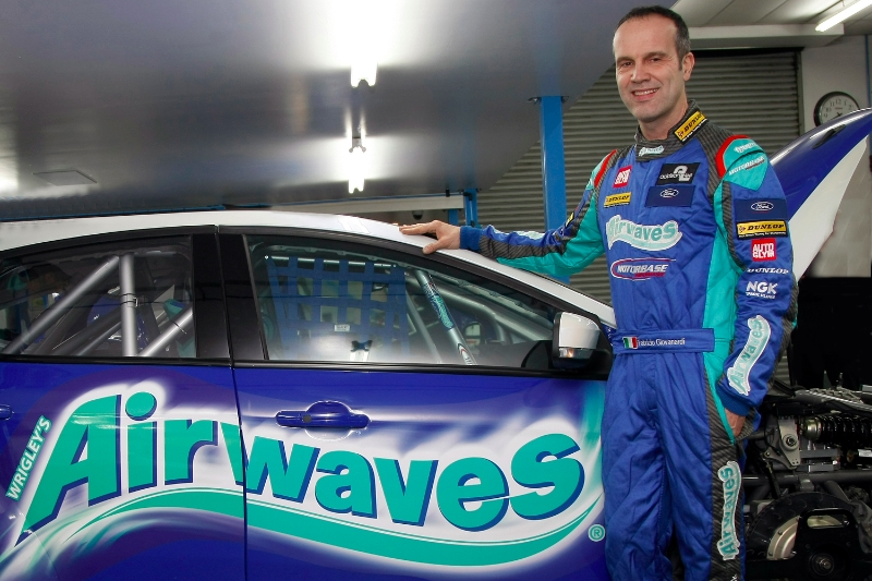 Another legend joins the 2014 BTCC grid as Airwaves Racing sign double champion Fabrizio Giovanardi