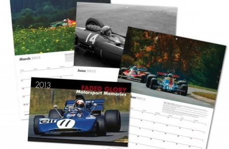 2013 Calendar Motorsport Memories Faded Glory