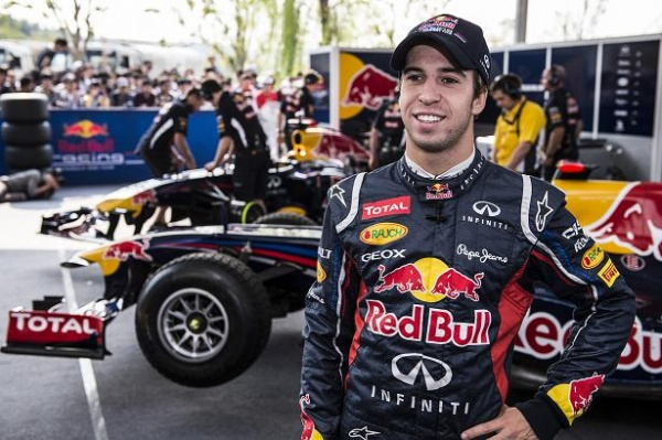 Felix da Costa is a member of the Red Bull Junior