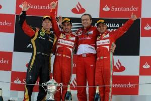 Ferrari win Espana 2013