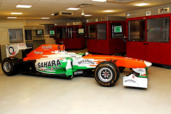 Force India 3D_Systems