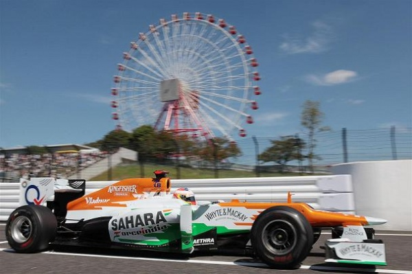 Force India Suzuka