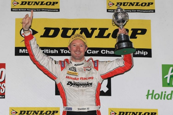GORDON SHEDDEN CROWNED