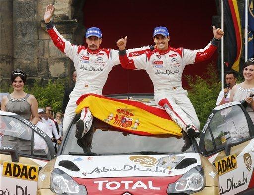 Germany Rally World Championship Michael Probst