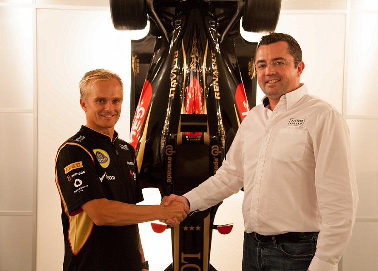 Heikki Kovalainen, Race Driver, Lotus F1 Team