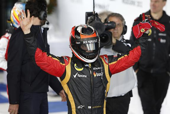 Kimi wins oz 2013