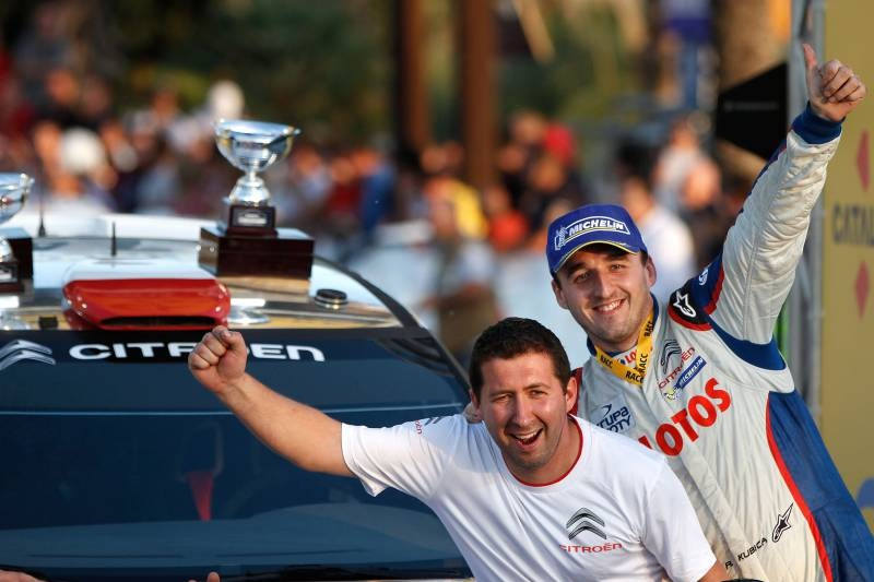Kubica Wins WRC2