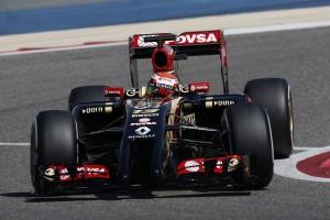 LOTUS F1 TEST