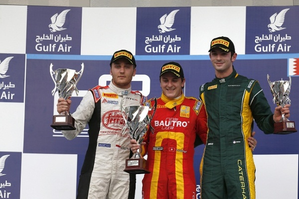 Leimer wins Bahrain GP2 Feature