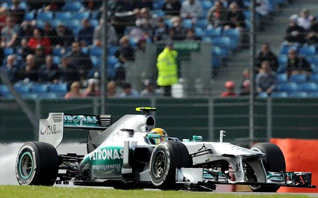 Mercedes' British driver Lewis Hamilton