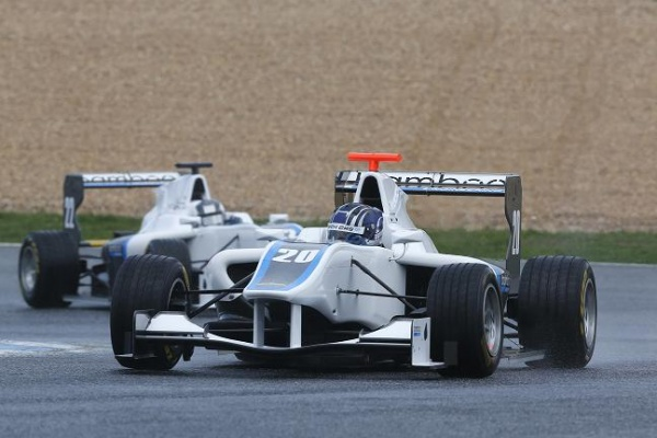 Lewis Williamson GP3 2013