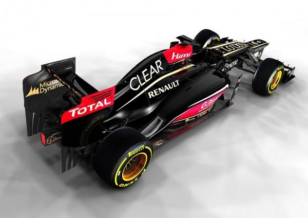 Lotus E21 rear