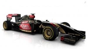Lotus E22 Side