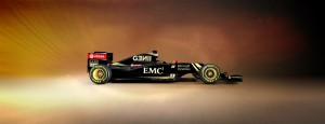 Lotus E23 Right Side