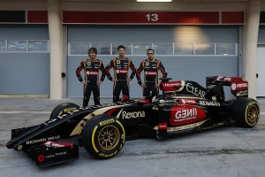 Lotus F1 drivers2014
