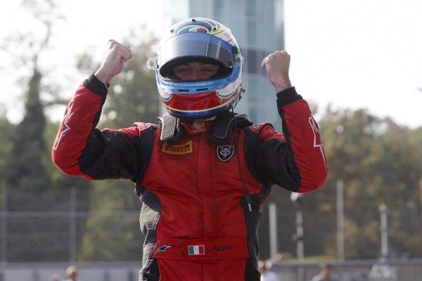 Luca Filippi at Monza
