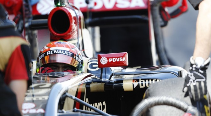 MALDONADO PUTS HIS LOTUS ON TOP
