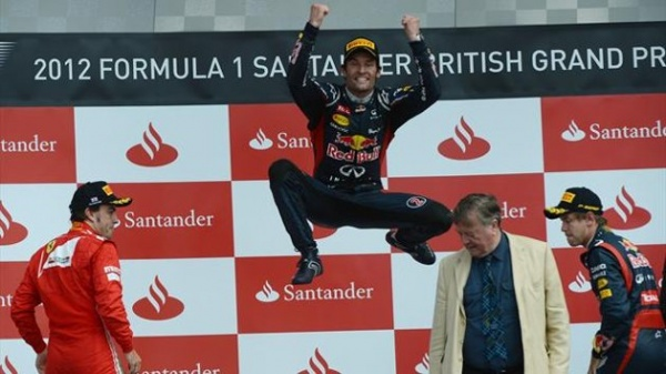 MARK WEBBER BRITISH WIN