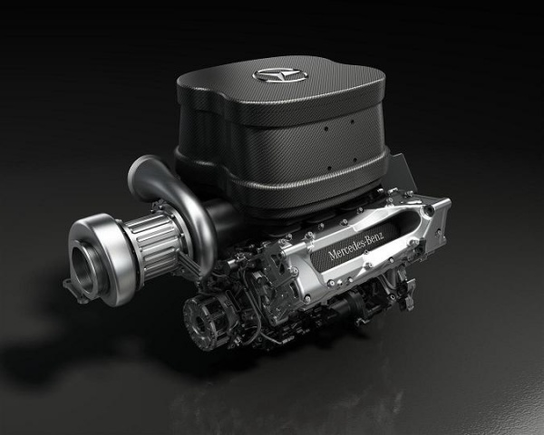 Mercedes v6_engine