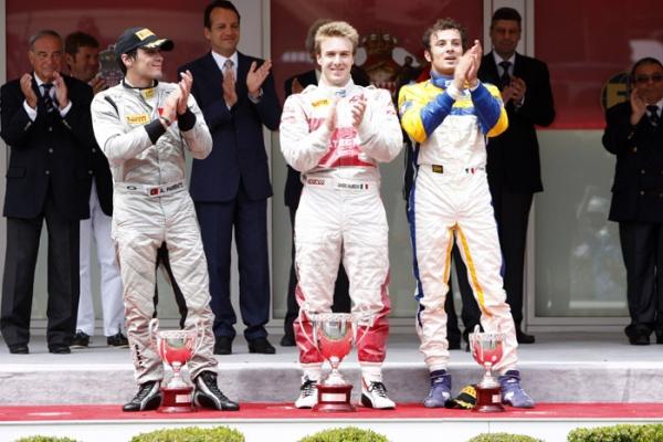 Monaco podium gp2