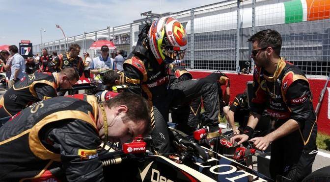 Pastor Maldonado Lotus F1