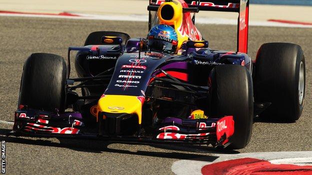 F1 Testing Bahrain day 3