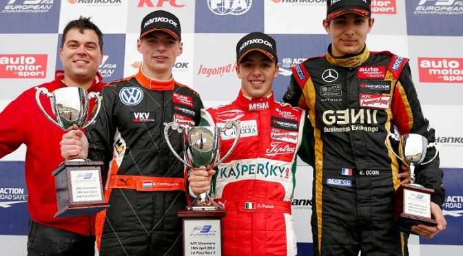 FIA Formula 3 European Championship, round 1, race 3, Silverstone (GBR)