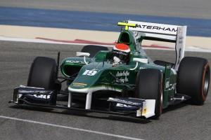 Rossi GP2 test 2014