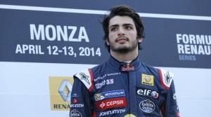 Sainz wis at Monza 2014
