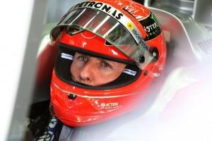 Schumacher Mercedes AMG