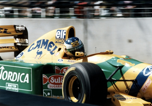 Schumacher at Benettoen 94