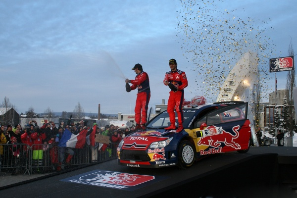 Sebastien Loeb six world championships