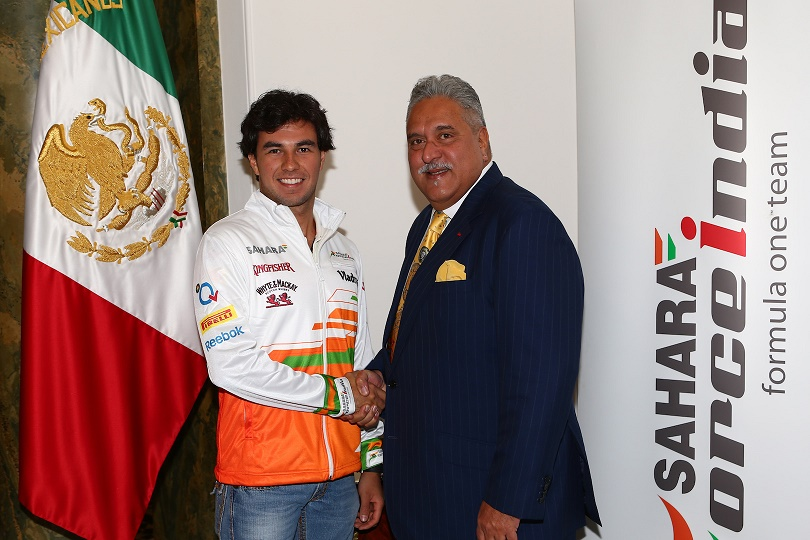Motor Racing - Sahara Force India Driver Announcement - London, England