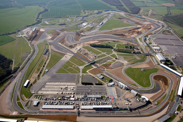 Silverstone view