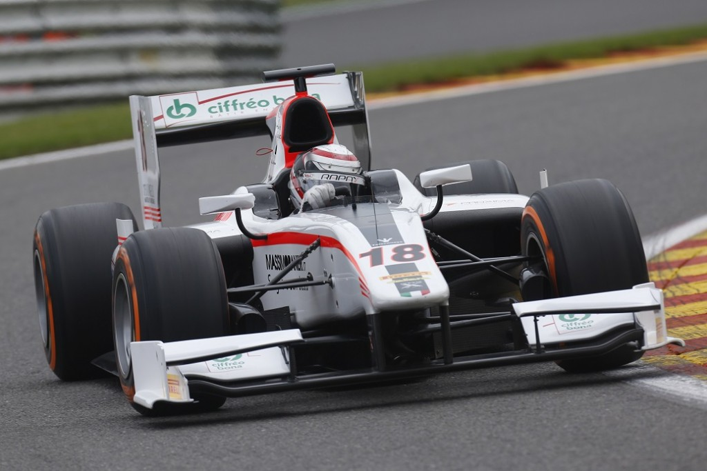 Stefano Coletti leads the way in Spa