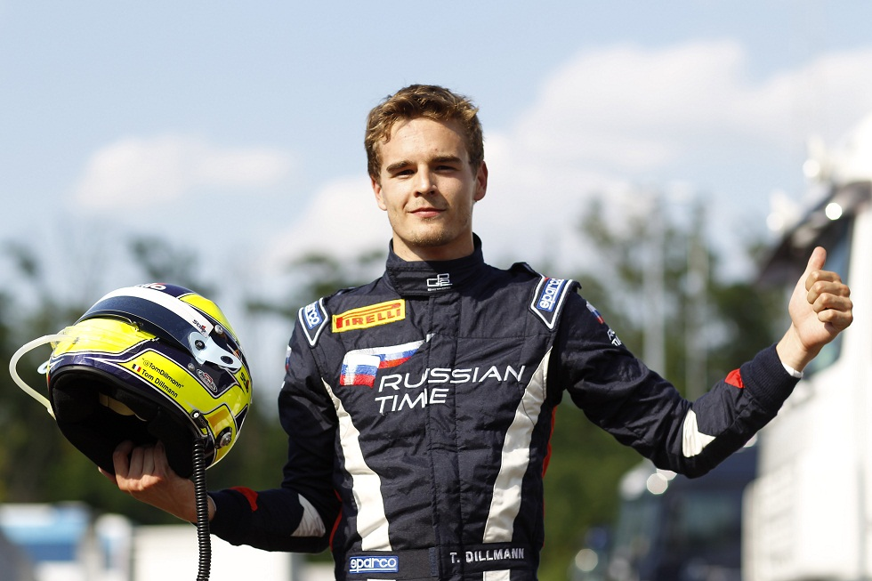 Tom Dillmann grabs maiden GP2 pole