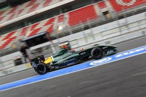 Alexander Rossi FR3.5 Test, Barcelona 3 April 2012