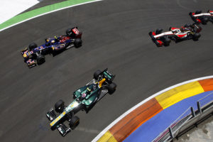 Caterham F1 valencia