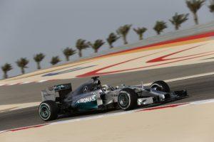 Lewis Hamilton Bahrain FP1